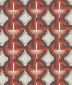 Robert Allen @ Home Futura Persimmon Fabric