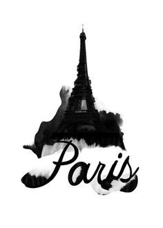 Paris Eiffel Tower France City of Light Love by yeohghstudio, $30.00