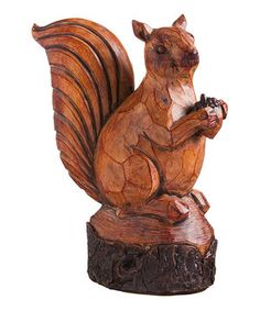 Another great find on #zulily! Carved Squirrel Figure by Evergreen #zulilyfinds