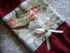 Luxury romantic kitchen accessory. by Decorative Towels - Created by Cath., via Flickr