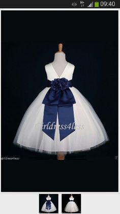 Vestido azul precioso wow