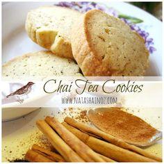 Chai Tea Cookies #recipe from Natasha in Oz
