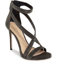 e059fd6c549b7 Imagine Vince Camuto Devin Women US 10 Black Sandals
