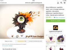 Décoration halloween etsy.com