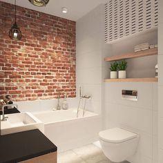 wie die unkomplizierte Toilette like the no fuss toilet - Marble Bathroom Dreams Red Bathroom Decor, Brick Bathroom, Bathroom Interior, Bathroom Remodeling, Bathroom Storage, Bathroom Ideas, Best Bathroom Designs, Bathroom Design Small, Modern Bathroom