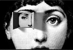 Piero Fornasetti - series of plates - Piero Fornasetti - surrealist eye - Fornasetti was an Italian (Milanese) painter, sculptor, interior decorator, and book engraver