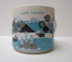 Starbucks Lake Tahoe You Are Here Collection Mug