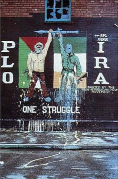 PLO - IRA - One Struggle | The Palestine Poster Project Archives One of my favorite revolutionary murals