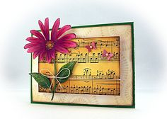 Music and flowers, a combination after my heart!