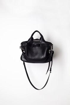 Style.com Accessories Index : fall 2012 : 3.1 Phillip Lim | black shoulder bag