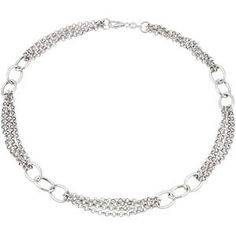 CH996 / Sterling Silver / 18 INCH / Polished