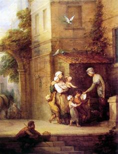 Charity relieving Distress - Thomas Gainsborough