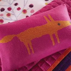 Buy Cushions from the Home department at Debenhams. You'll find the widest range of Cushions products online and delivered to your door. Knitted Cushions, Pink Cushions, Colourful Cushions, Scion Mr Fox, Grown Up Bedroom, Princess Room, Decorative Cushions, Pattern Mixing, Bedroom Colors