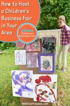#ad Help your kids become business owners as young and rising entrepreneurs selling their crafts, creations, art, and projects at a local Acton #ChildrensBusinessFair! If there isn't one near you, consider hosting one yourself. This blog post is SUPER helpful in knowing what to expect and learning that it doesn't have to cost much or big a huge event to still be a success. So thankful for this extra hands-on learning experience for kids to learn entrepreneurship. Four Kids, Hands On Learning, Work From Home Moms, Business For Kids, Raising Kids, Entrepreneurship, Thankful, Success, Big