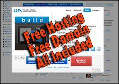 Learn how to create a website for free, hosting and domain included.