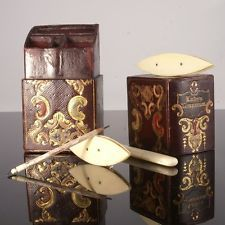 Victorian Leather Lady's Companion Sewing Etui
