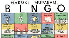 Here's how to play Haruki Murakami Bingo as you read his books