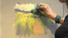 Marla Baggetta paints A Summer Path (pastels)