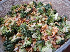 Brocilli chedder salad