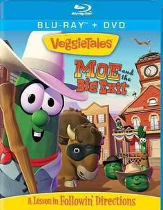 The VEGGIETALES children's series stars adorable, computer-animated vegetables in family-friendly stories that foster Christian values and morality. A fun-filled take on the biblical story of Moses an