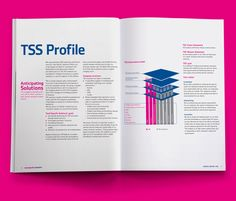 QR coded, TSS Annual Report 2011 Your world | Our world on Behance