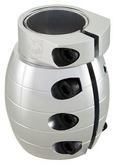 Team Dogz SCS Oversized Grenade Clamp - Silver