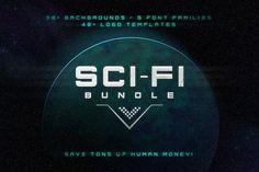 Sci Fi Bundle • Save 70% by Tugcu Design Co. on @creativemarket