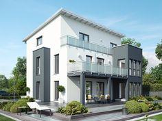 Unser CELBRATION 275 V4.  #Haus #Fertighaus #Hausbau #Design #Architektur #Zweifamilienhaus #House #BienZenker