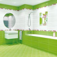 зеленая плитка для ванной - Поиск в Google