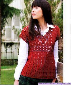 Blusa…con un poco mas de elaboración   Mi Rincon de Crochet