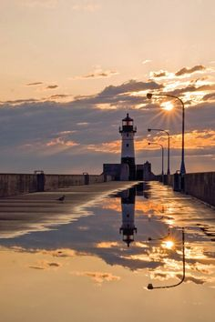 We love beautiful Duluth Sunrises... especially in Canal Park!!!   Duluth, Minnesota... love my new territory