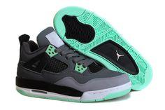 983e3c6f6a92 Women s Air Jordan 4 Green Glow Super Perfect