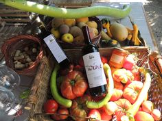 Il Fontanaro Organic Farm, Umbria. Some of our organic ingredients  http://www.organicholidays.co.uk/at/3332.htm
