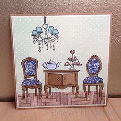 Postcard: Tea time!