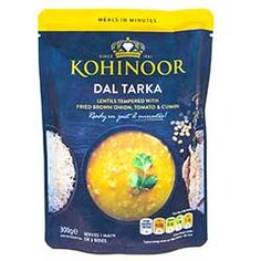 Buy Dal Tarka online from Spices of India - The UK's leading Indian Grocer. Free delivery on Dal Tarka - Kohinoor (conditions apply). Curry Paste, Free Delivery, Conditioner, Spices, How To Apply, Food, Spice, Meals, Yemek