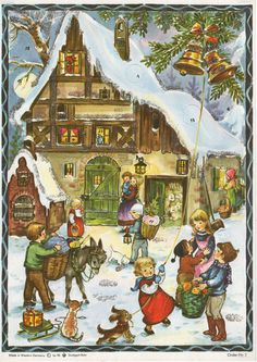 Richard Sellmer Advent Calendar, Order Nr. 3, Illustrated By Anita Rahlwes,
