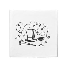 New Years Eve Generic paper napkins 65% off