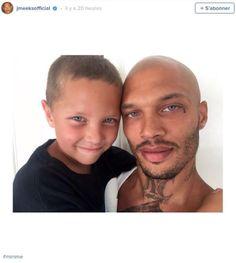 Jeremy Meeks, le prisonnier le plus sexy, présente son fils (photo)