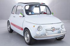 1968 FIAT 500F ABARTH EVOCAZIONE LHD