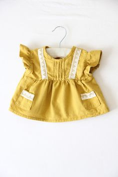 little mustard tunic by daily design delivery