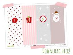 Adventskalender Printable (freebie)
