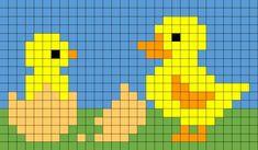 Kids Knitting Patterns, Baby Sweater Knitting Pattern, Knitting Charts, Cross Stitch Beginner, Tiny Cross Stitch, Pixel Design, Graph Design, Fuse Bead Patterns, Cross Stitch Patterns