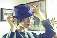 Corina Haywood Hats 1930's-1940's Inspired by CorinaHaywood