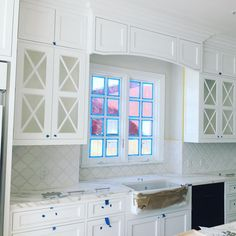 """""""Our #corsicaproject is coming along!! Can wait to see this kitchen uncovered!"""""""