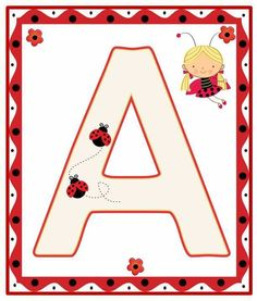 Lady Bug, San Antonio, Alfabeto Animal, Bedtime Prayer, Alphabet For Kids, A Bug's Life, Printable Letters, Class Decoration, Letters And Numbers