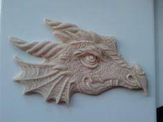 Dragon Head From Polymer Clay..