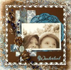 Rae_M's Gallery: Wonderland ~*~Swirlydoos~*~ Christmas Scrapbook Pages, Kids Scrapbook, Scrapbook Albums, Scrapbooking Layouts, Scrapbook Cards, Snowflake Cards, Snowflakes, Snow Angels, Altered Art