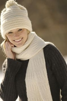 Classic Merino Hat and Scarf