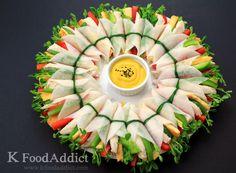 Korean radish wraps