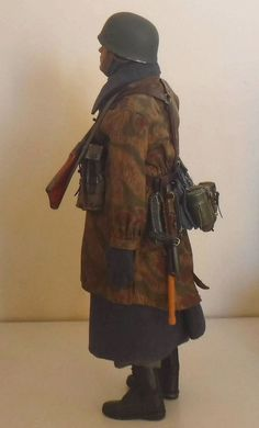 1/6 Scale german fallschirmjäger custom figure (Toys City,soldier story,DID )